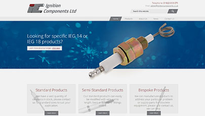 Ignition Components Ltd - New website